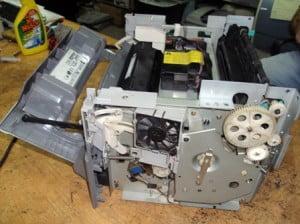Как чистить лазерный принтер?
