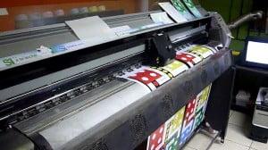 Печатающий плоттер